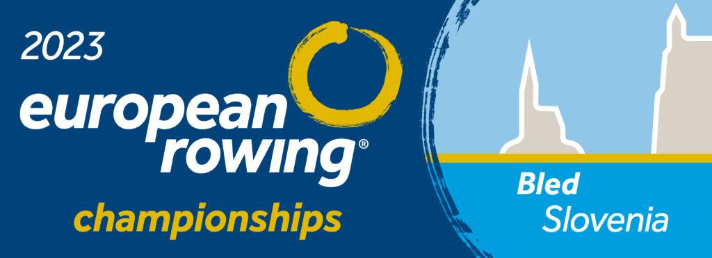 Logo 2023 European Rowing Championships